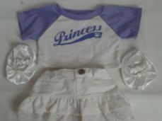 Adorable Build-a-Bear 'Princess' 4-Piece Bear Cute Outfit